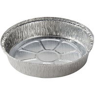 AFSD 9 inch Round Foil Take Out Pans - American Food Service