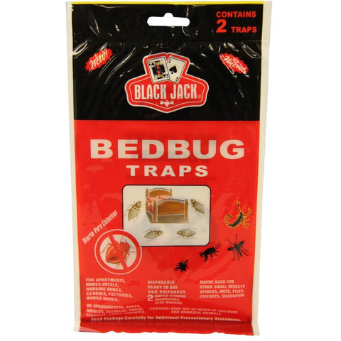 Black Jack Bed Bug Glue Traps 2 Ct - American Food Service