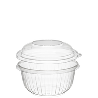 16 oz OPS Bowl/Dome Lid Combo Pack - American Food Service
