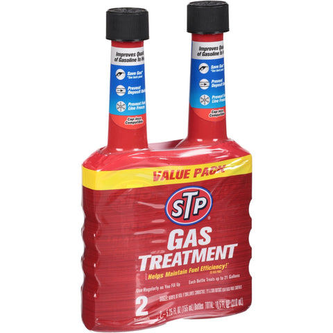 STP Gas Treatment 2pk 5.25oz. - American Food Service