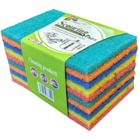 Rainbow Scouring Pads 10pk - American Food Service