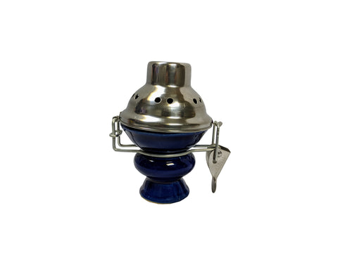 Hookah Medium Porcelain Bowl with Cover - American Food Service