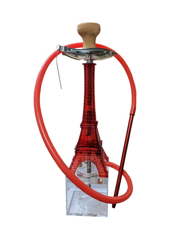 Hookah Eiffel Tower Assorted Color with LED - American Food Service