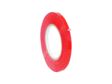 "Poly Tape 3/8"" x 180' Red - American Food Service"