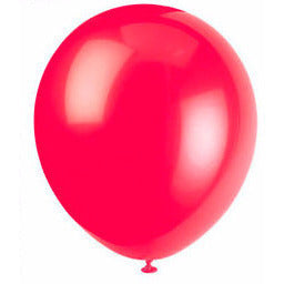 12'' Balloon ' Ruby Red ' - American Food Service