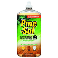 Pine-Sol 32oz Squirt 'N Mop Multi-Surface Cleaner - American Food Service