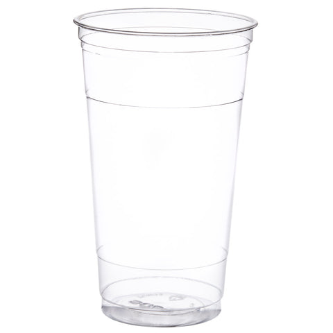32oz Straight Wall PET Plastic Cup-TC32 - American Food Service