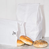 #20 White Paper Bag - American Food Service