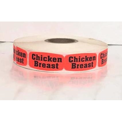 Chicken Breast Label 1M/RL - American Food Service