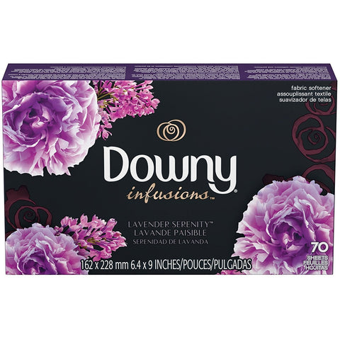 Ultra Downy 70 Infusions Fabric Softener Sheets