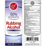 Universal Rubbing Alcohol 50% - American Food Service