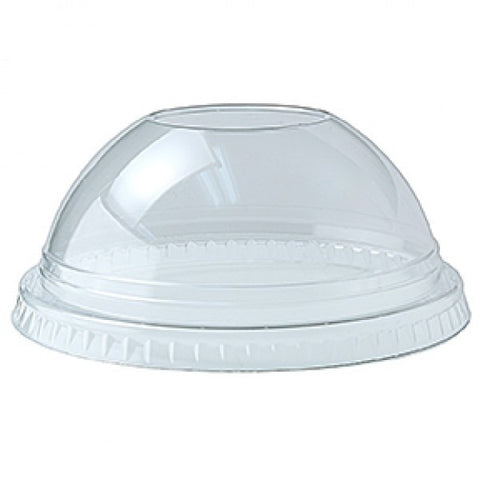 DLKC 12/20 Clear Dome Lid No Hole - American Food Service