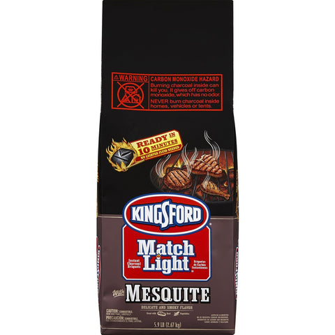 Kingsford Match Light Charcoal Briquettes with Mesquite 10.6 lb - American Food Service