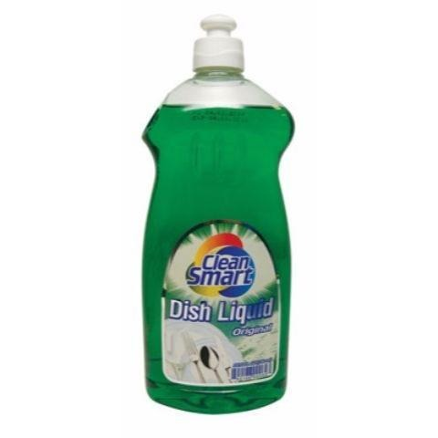 Clean Smart Dish Liquid 25oz - American Food Service