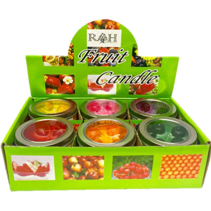 AFSD Assorted Fruit Candles - American Food Service