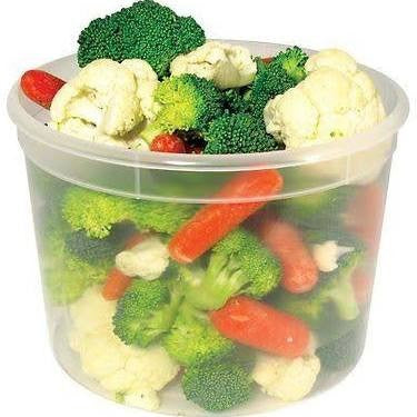 64 oz Clear Container Poly Pro - American Food Service