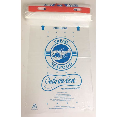 Seafood Poly Header Bag - American Food Service