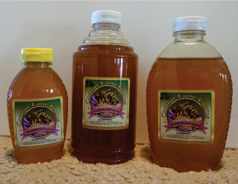 100% pure Raw Honey