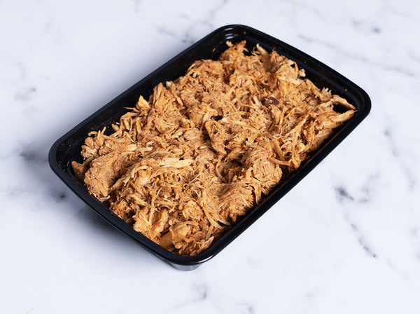 Pulled Barbecue Chicken Breast