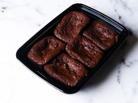 Dark Chocolate Tahini Brownie - 5 Brownies