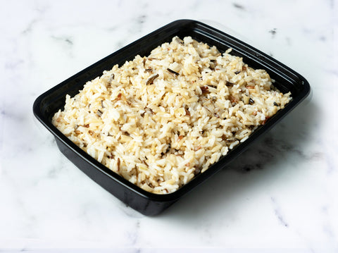 Steamed Wild Rice