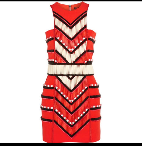 Tribal Beaded dress