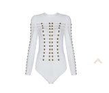 Long Sleeve Bandage Bodysuit