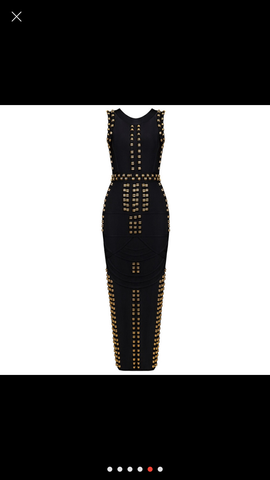 The Kim bandage dress (black)