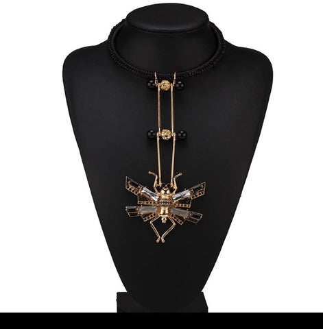 Dragon - Fly necklace