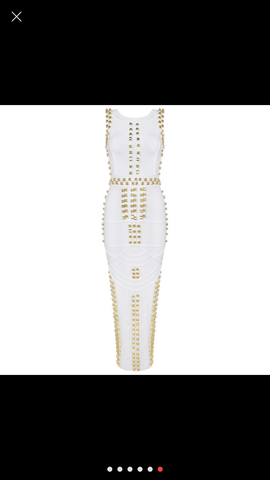 The Kim elegant bandage dress