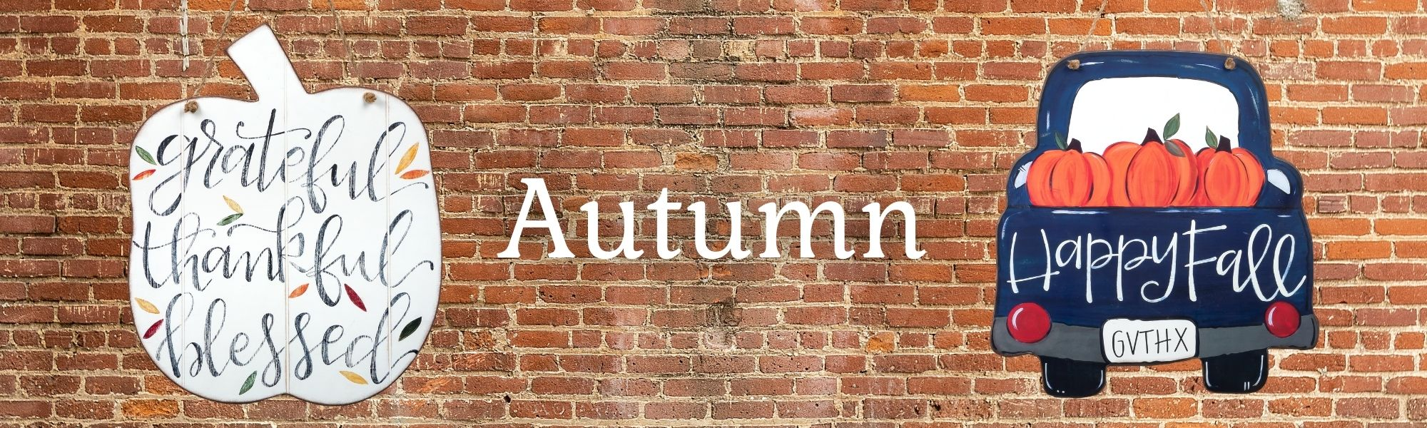 Autumn gifts and decor