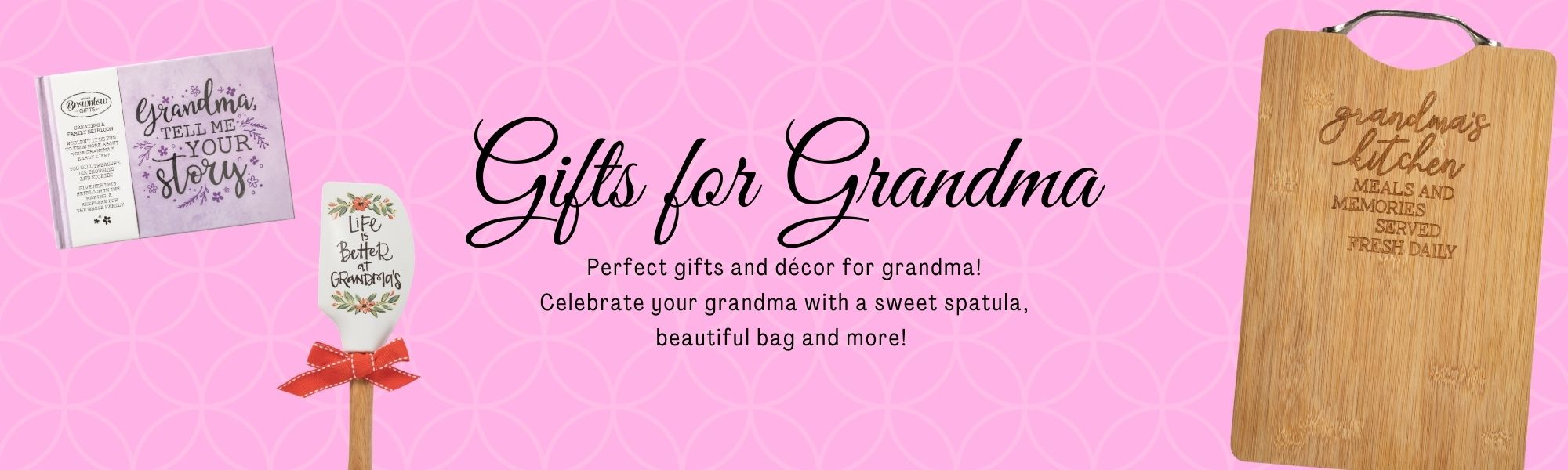 The perfect gift and décor for grandma!