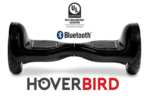 "UL2272 I6 Self Balancing Black 10"" Hoverboard - 700W - Bluetooth, plus the APP"