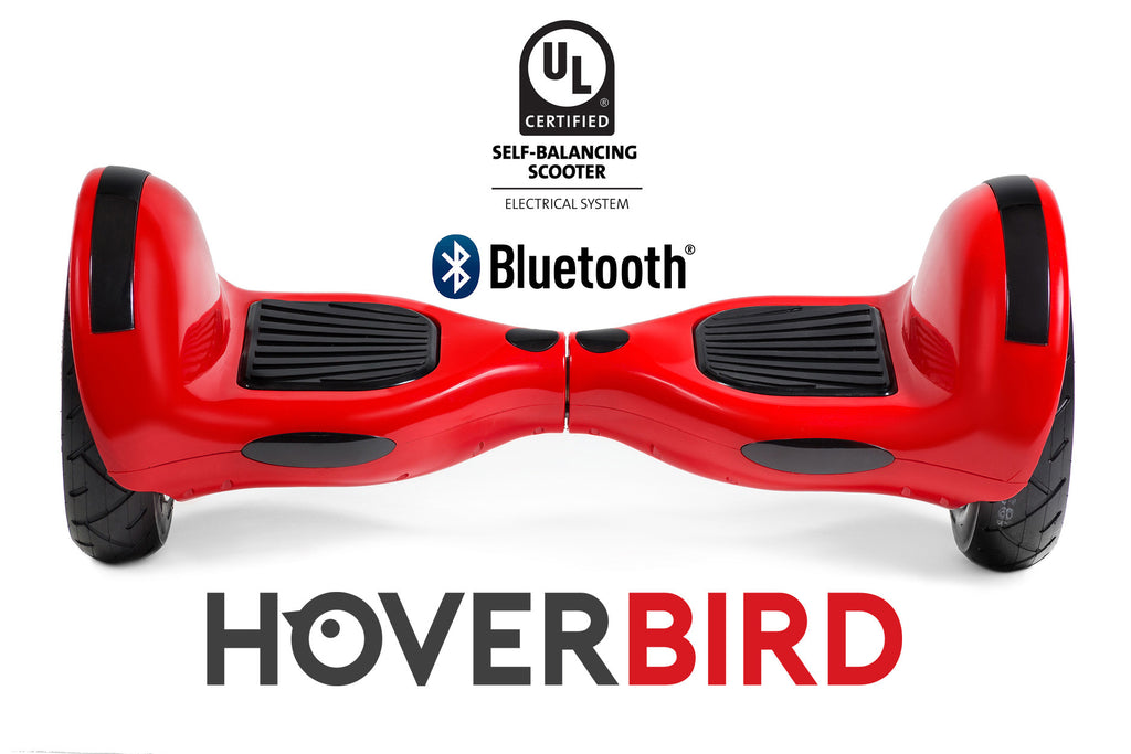 "UL2272 I6 Self Balancing RED 10"" Hoverboard - 700W - Bluetooth, plus the APP"