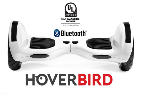 "UL2272 I6 Self Balancing White10"" Hoverboard - 700W - Bluetooth, plus the APP"