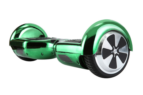 Self Balancing Chrome Green Hoverboard - 700W