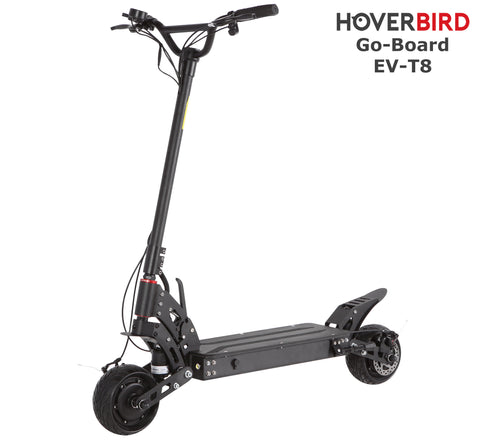 GO-BOARD EV-T8 Electric City Scooter Spring Suspension 800W/48V/10Ah