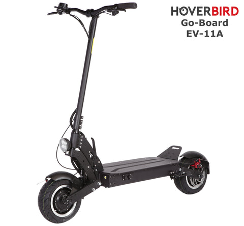 GO-BOARD EV-T11A Electric City Scooter AIR CHARGE SUSPENSION 2000W/60V/25Ah