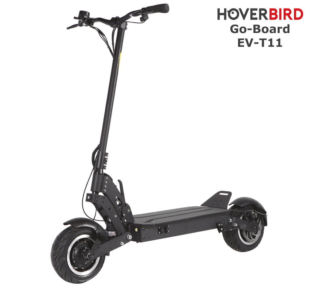 GO-BOARD EV-T11 Electric City Scooter Spring Suspension 2000W/60V/15Ah