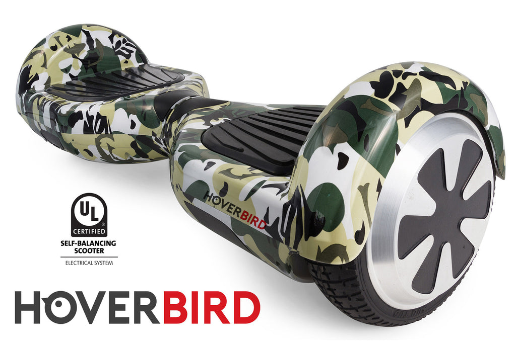 CAMO HOVERBOARD CANADA - I1 UL2272 CERTIFIED SELF BALANCING SCOOTER