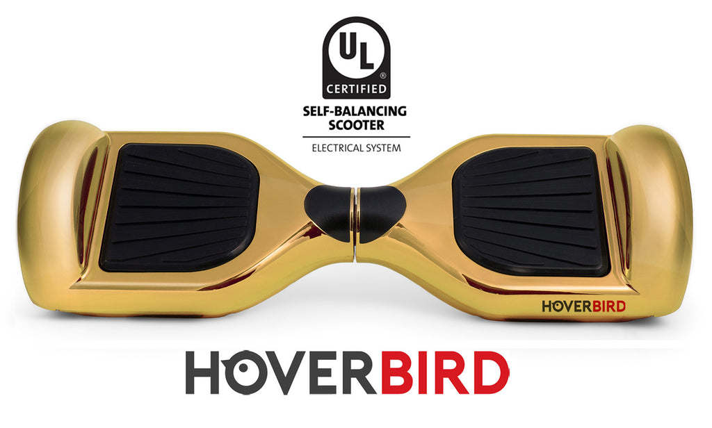 GOLD CHROME HOVERBOARD CANADA - I1 UL2272 CERTIFIED SELF BALANCING SCOOTER