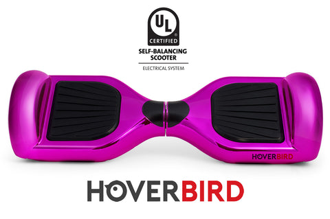 HOT PINK CHROME HOVERBOARD CANADA - I1 UL2272 CERTIFIED SELF BALANCING SCOOTER