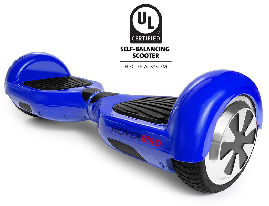 BLUE HOVERBOARD SOLID - I1 UL2272 CERTIFIED SELF BALANCING SCOOTER