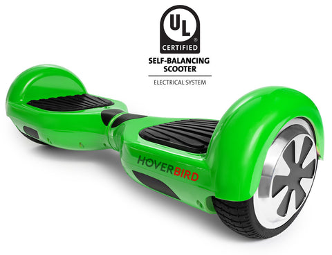 GREEN HOVERBOARD CANADA - I1 UL2272 CERTIFIED SELF BALANCING SCOOTER