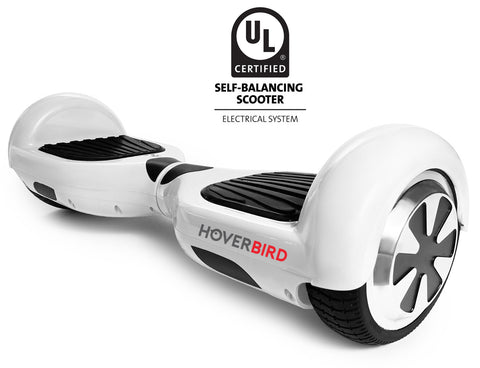WHITE HOVERBOARD CANADA - UL2272 CERTIFIED SELF BALANCING SCOOTER