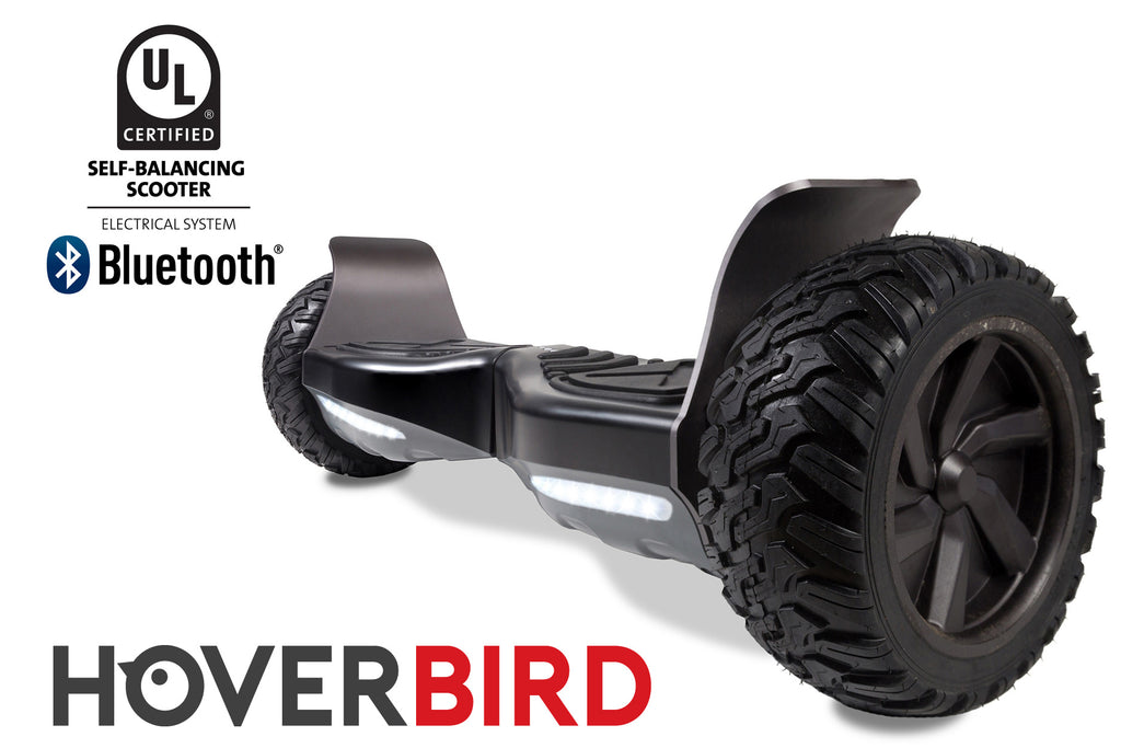 "BLACK HOVERBIRD SUV - Z9 UL2272 Certified 800W - 8.5"", Off-Road All Terrain - BLUETOOTH"