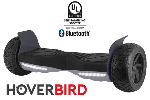 "BLACK HOVERBIRD SUV - Z13 UL2272 Certified 800W - 8.5"", Off-Road All Terrain - BLUETOOTH"
