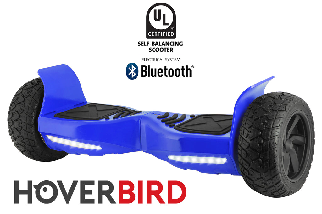 "BLUE HOVERBIRD SUV - Z13 UL2272 Certified 800W - 8.5"", Off-Road All Terrain - BLUETOOTH"