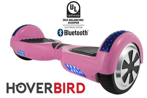PINK HOVERBOARD SOLID - Z1 UL2272 CERTIFIED SELF BALANCING SCOOTER – BLUETOOTH