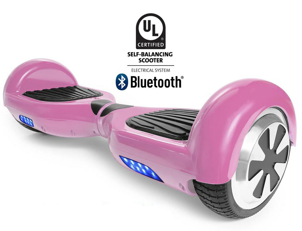 PINK HOVERBOARD CANADA - I1 UL2272 CERTIFIED SELF BALANCING SCOOTER - BLUETOOTH